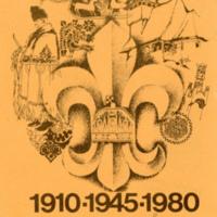 1980 Jubileumi Tábor levelezőlap